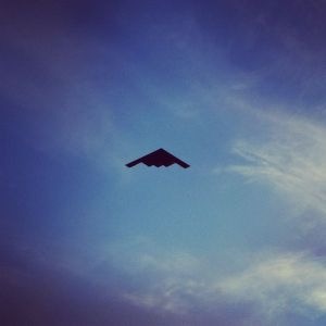 B-2 Fly-over